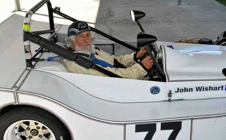 Warwick driver John Wishart is heading to Winton Raceway later this month.