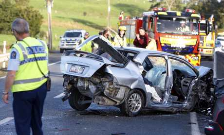 Fatal crash SH1 at Towai.