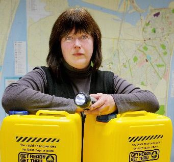 Napier Civil Defence manager Angela Reade