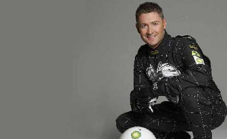 Michael Clarke has never had this much padding.