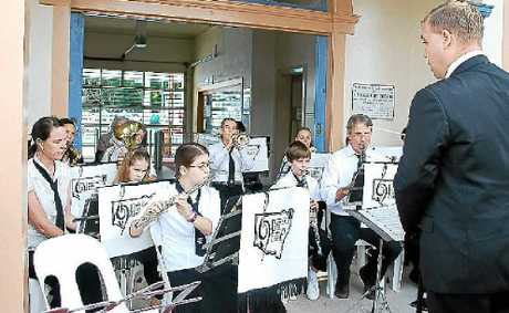 BIG SOUND: The Lismore City Concert Band under the baton of Ben van Kleef.