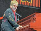 British musician and singer, Sir Elton John, performing during a concert in Rotterdam, Netherlands, but he wont be performing at the Bluesfest site here.