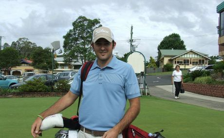 Former Lismore golfer Rhein Gibson shot a provisional world record round of 55 in the US on Saturday