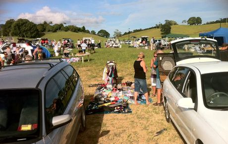 The car boot sale will take place on Sunday, May 20 from 8am.