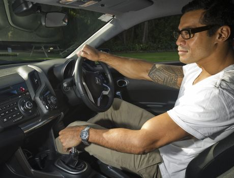 Robbie Magasiva was impressed with the way the CR-Z's sport mode kicked in so quickly