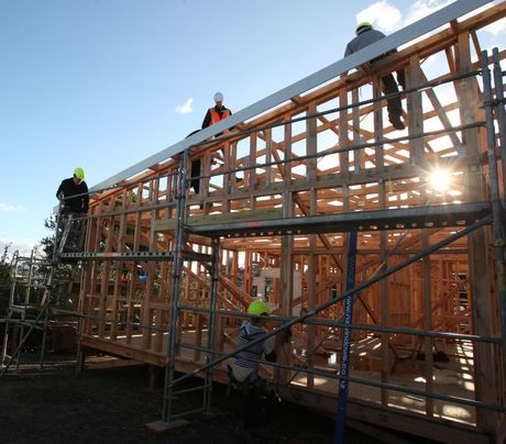 Those in the home building industry have reported an upsurge in activity and contract signings.