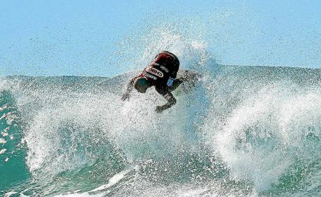 Nathan Hedge is enjoying surfing again and is looking to return to the top level after a string of promising recent performances.