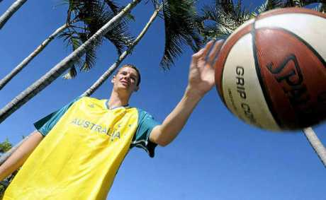 Morgan Williams is representing Australia in basketball at the Asia Pacific Deaf Games.