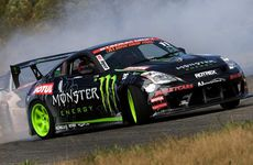 Pro Drift cars will take to Caloundra's closed runways on Saturday night as part of the international rally championship.