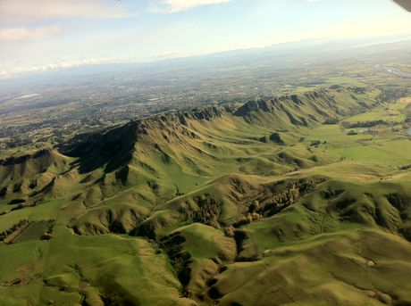 Hawke's Bay has the ideal landscape for films.