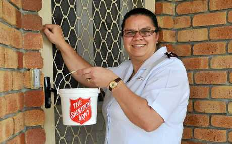 Captain Cathryn Williamson is breathing a sigh of relief that the Do Not Knock Register will not affect the fundraising efforts of The Salvation Army.