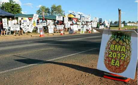 A seven-day strike will begin tomorrow across BMA's Bowen Basin operations.