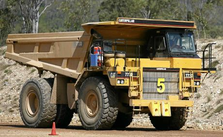 This isn't on the auction list, but there is plenty of mining equipment on offer when more than 2000 lots go under the hammer next Saturday.