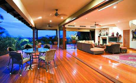 YOU get the first and last rays of sun for the day here at this spectacular, mountaintop residence, where Mount Cooroy is within arm's reach.