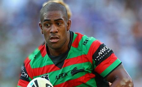 Eddy Pettybourne of the Rabbitohs.
