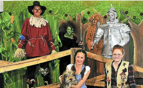 Bundaberg State High School's production of the Wizard of Oz is on tomorrow and Saturday.