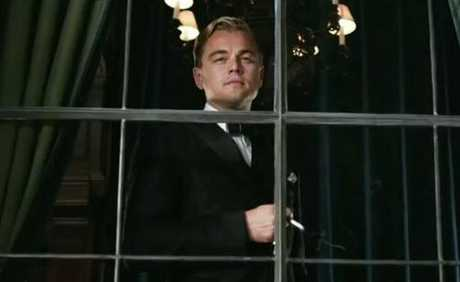 Leonardo Dicaprio stars in Baz Luhrmann&#39;s The Great Gatsby.