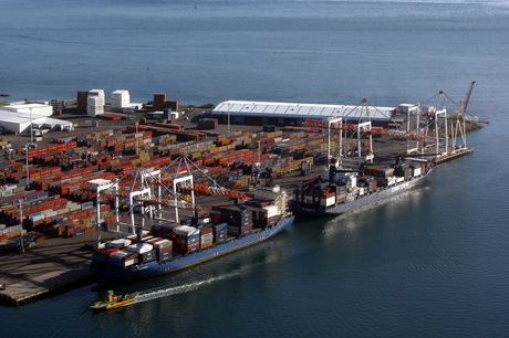 FILE. Port of Tauranga is going from strength to strength.