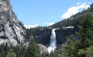 Yosemite National Park's Nevada Fall.