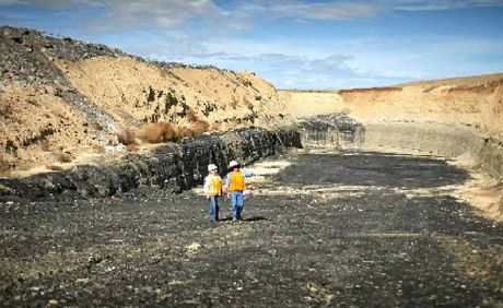 Some works are underway at Wandoan's proposed coal mine ahead of approvals.