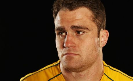 James Horwill of the Wallabies poses during an Australian Wallabies portrait session at Crowne Plaza, Coogee on May 27, 2012 in Sydney, Australia.