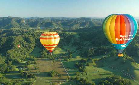 ETHEREAL: Unlike any other aircraft, balloons travel with the wind, so there is no friction, no breeze, no sense of movement and no sound.