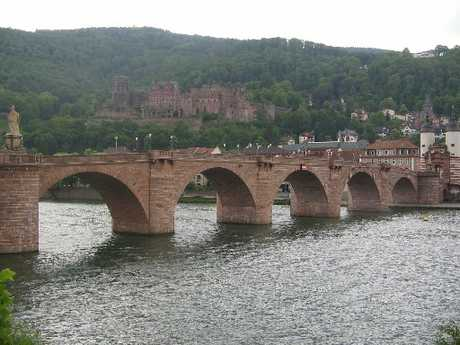 Heidelberg is a fairy-tale town of photogenic architecture and interesting sculptures.