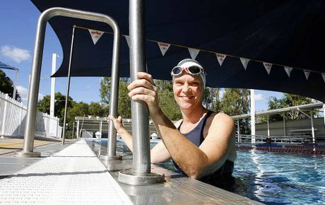 Ipswich competitor Shiralee Bielenberg has added an extra session of pool training to prepare for her first international competition in Vanuatu.