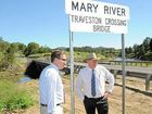 Jeff Seeney's visit to the Mary Valley has given the community some hope for the future.