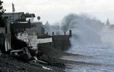COASTAL SOLUTIONS: The on-going coastal erosion problems at Haumoana are among the top topics people have submitted on to the Hastings District Council's long term plan.