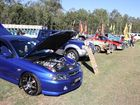 A range of eye-catching utes from old to new were on display at the Esk Show.