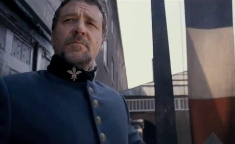 Russell Crowe plays Javert in the new Les Miserables film, to be released on Boxing Day.
