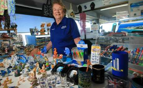 Shirley Williams has volunteered at the Point Danger store for more than eight years but is now looking for a replacement.
