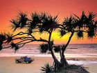 Renowned travel magazine National Geographic rates Fraser Island the world's seventh best beach.