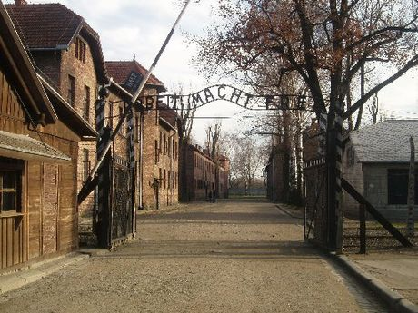 EVIL: The horrors of Auschwitz almost defy description.