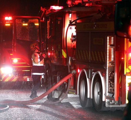 Firefighters were called to a chemical spill in Mount Maunganui last night.