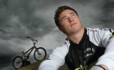 ON HIS WAY: Tauranga BMX rider Kurt Pickard was yesterday confirmed in the team for the London Olympics.
