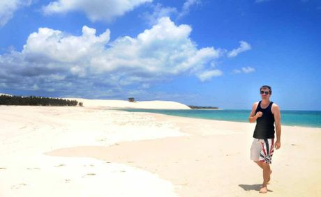 Fraser Island's beaches have been judged the seventh best in the world by National Geographic.