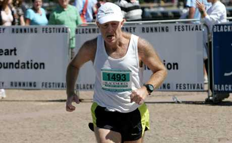 HARD SLOG: Paul Crouch-Chivers has run his way across the country and world to complete more than 100 combined marathon and ultramarathon races.