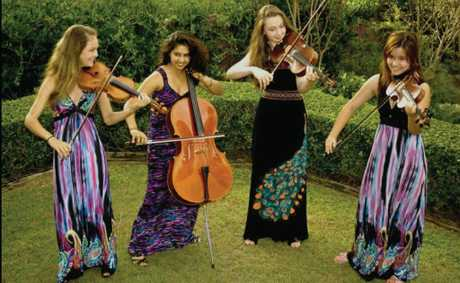 SWEET MUSIC: Classical in the Cane Fields, on the grounds of the historic Greenmount Homestead on Saturday 14 July. One of the acts will be the music of Quatro.