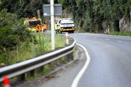The major work, involving repairs as a result of slips and resealing, is taking place around the Mohaka Hill, Putorino and Devil's Elbow.
