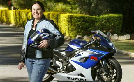 Tammy Goldthorpe of Raceview will put her Suzuki GSXR1000 on the quarter mile track at the Winternationals.