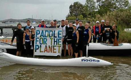 Noosa Outriggers give back to the ocean.