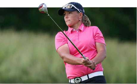 KATHERINE Hull is aiming to get into the top 20 earners on the US LPGA Tour next year.