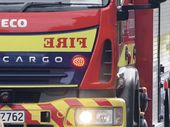 A fire in an empty house in Christchurch overnight is believed to have been deliberately lit.