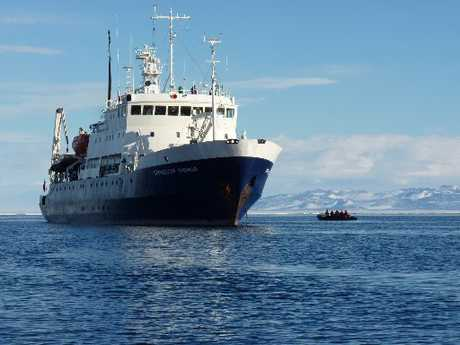 An 11-day cruise of Antarctica.