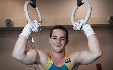 GO FOR GOLD: Gymnast Josh Jefferis will be heading to London next month to compete in the Olympic Games.