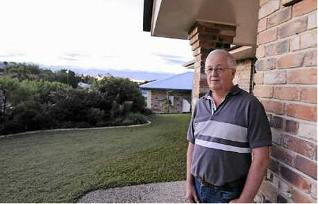 Telina resident Robin McKenzie is happy he and his wife Karen bought in Telina.