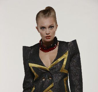 FUTURISTIC FASHION: This Edwardian jacket is expected to hit stores in September and will retail for $999.