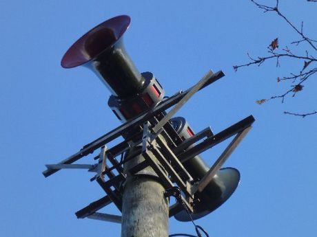 LOUD: Long range tsunami sirens installed in Moera, Lower Hutt.